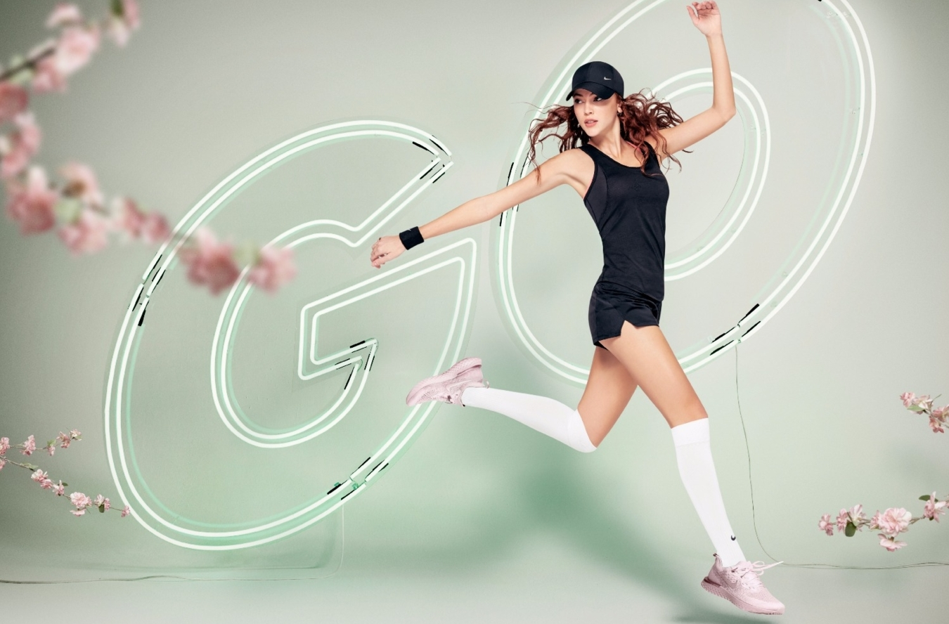 Rafaelly for Nike Campaign